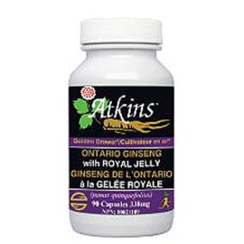 Atkins Ontario Ginseng with Royal Jelly 90capsules