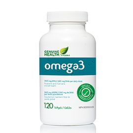 Genuinehealth Omega-3 120softgels