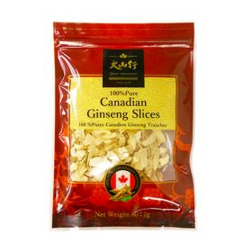 GM Ginseng Slices 80g/bag