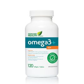 Genuinehealth Omega-3 + Joy 120softgels