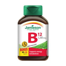 Jamieson Vitamin B12 1200 mcg Time Release 80tablets.