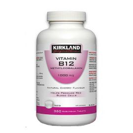 Kirkland Signature Vitamin B12 Methylcobalamin 1000mcg 360tablets