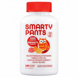 SmartyPants Kids Complete Multivitamin 180 Gummies