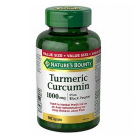 Nature's Bounty Turmeric with Black Pepper 1000mg 90 Capsules