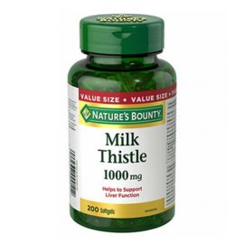 Nature's Bounty Milk Thistle 200 Softgels