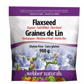 webber naturals Organic Ground Flaxseed 900 g