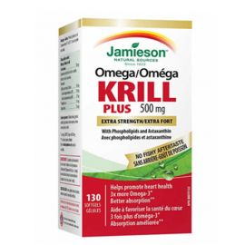 Jamieson Omega Krill Plus 130 Softgels