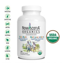 Nova Scotia Organics Kid's Multivitamins & Minerals 180 Caps