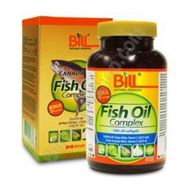 Bill Fish Oil Complex 120capsules