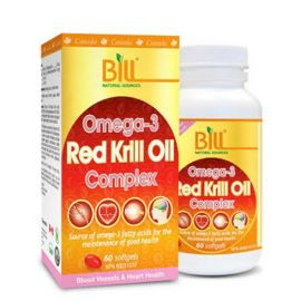 Bill Omega-3 Red Krill Oil Complex 60softgels