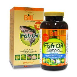 Bill Fish Oil Complex 300capsules