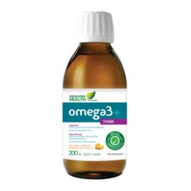 Genuine Health Liquid omega3+ THINK Orange 200ml
