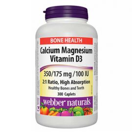 webber naturals Cal-Mag 2:1 with D 300 Tablets