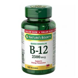 Nature's Bounty Vitamin B12 2500mcg 120 microtablets