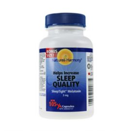 Nature's Harmony Melatonin 3 mg 105 capsules
