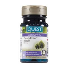 Quest Flush-Free Niacin 500mg 60capsules