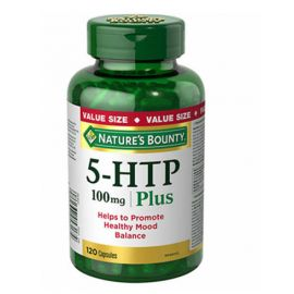 Nature's Bounty 5-HTP 100mg  120 Capsules