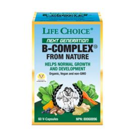 Life Choice Next Generation B Complex 60 Vcaps