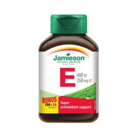 Jamieson Vitamin E 400IU/268mg 120softgels.