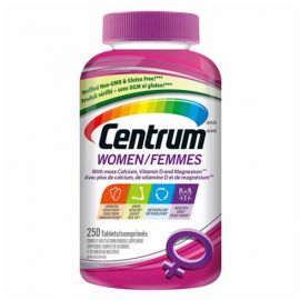 Centrum Complete Multivitamin and Mineral Supplement for Women 250 Tablets