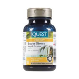 Quest Super Stress B Complex + C 1000mg 60tablets