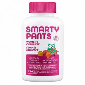 SmartyPants Women's Complete Multivitamin 240 Gummies