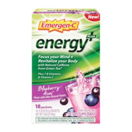Emergen-C Energy+ Blueberry Acai 18 singles/box