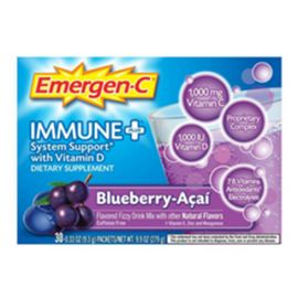 Emergen-C ImmunePlus Blueberry Acai 24 singles/box