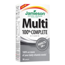 Jamieson Multivitamin 100% Complete for Adults 50+ 90 caps