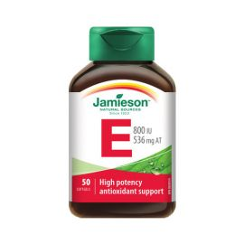 Jamieson Vitamin E 800IU/536mg 50softgels.