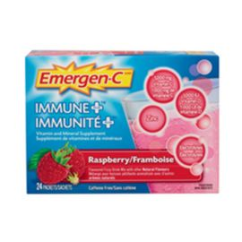 Emergen-C Immune Plus Raspberry 24 Singles/box