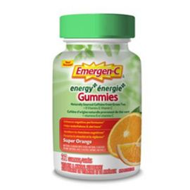 Emergen-C Energy+ Gummies Super Orange 32ct