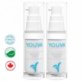 Youva Dynamic Duo: Bounce Back Organic Serum and Bright Eyes Organic Anti-aging Cream