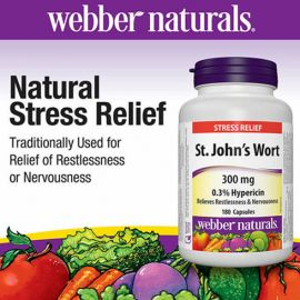 webber naturals St. John's Wort Extract 180 Capsules