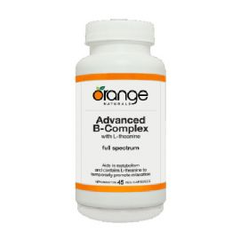 Orange Advanced B-Complex With L-Theanine 45vegetable capsules