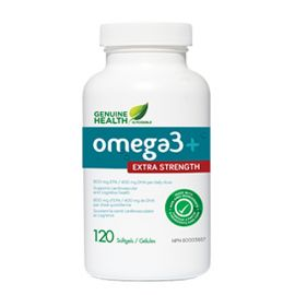 Genuinehealth Omega-3 Extra Strength 120 softgels