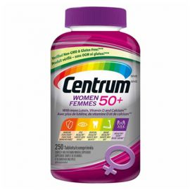 Centrum Complete Multivitamin and Mineral Supplement for Women 50+ - 250 Tablets
