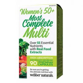 webber naturals Women's 50+Most Complete Multi 90 vegetarian capsules