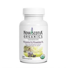 Nova Scotia Organics Vitamin D3 (120 Tablets)