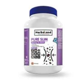 Herbaland Gummy for Adults: Pure Slim 90 Gummies