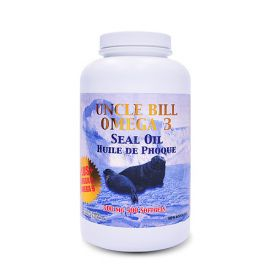 Uncle Bill Omega-3 Seal Oil 500mg 500softgels