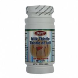 BEC Milk Thistle  150mg 60 capsules
