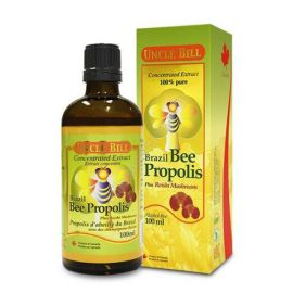 Uncle Bill Brazil Bee Propolis Concentrated Extract 100% Pure Plus Reishi Bushroom 100ml