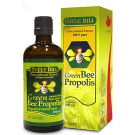 Uncle Bill Green Bee Propolis Concentrated Extract 100% Pure 100ml