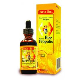 Uncle Bill Brazil Bee Propolis Concentrated Extract 100% pure 60ml