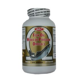 BEC Deep Sea Fish Oil Omega-3 1000mg 200capsules