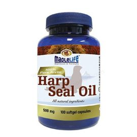 Maplelife Harp Seal Oil 500mg 100softgels