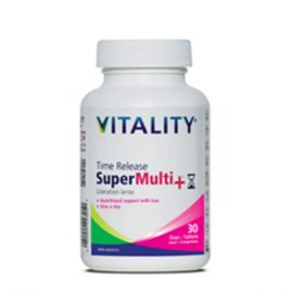 Vitality Time Release Super Multi+ 30 Tablets • Days