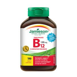 Jamieson Timed Release Vitamin B12 1200 mcg 190 tablets