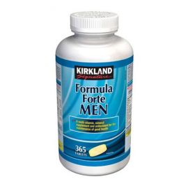 Kirkland Signature Formula Forte Men 365 tablets